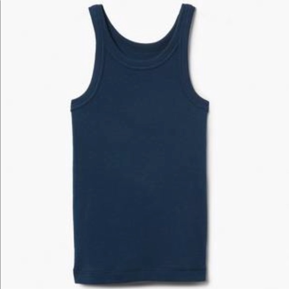 Gymboree Other - Gymboree Girl's Cotton Navy Blue Tank Top NWT